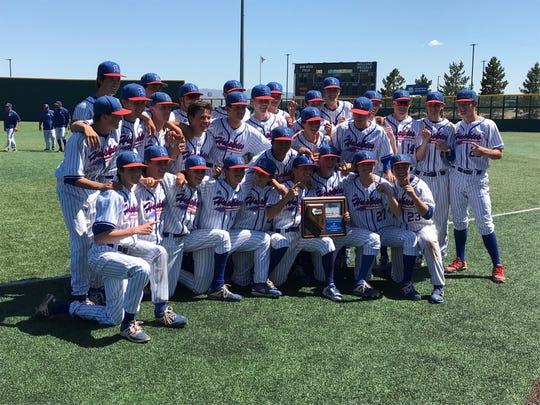 Reno won the Northern 4A Regional baseball championship last spring.