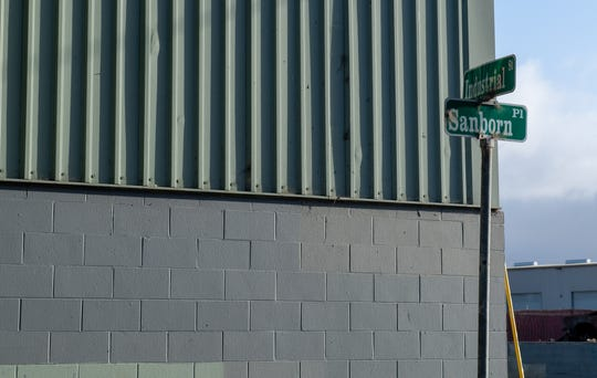 Sanborn Place and Industrial Street is pictured here Nov. 19, 2019. Early that morning, a Salinas police officer involved shooting occurred in the area.