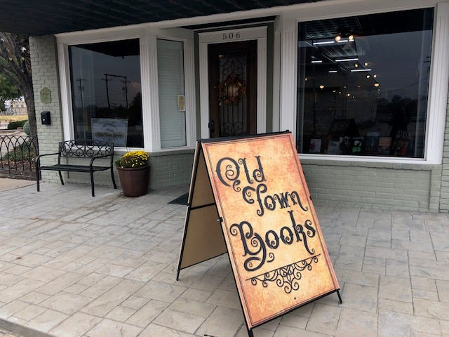 Old Town Books, 506 S. Chadbourne St. in San Angelo.