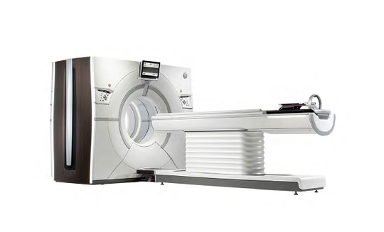 A rendering of a General Electric Revolution CT Scanner included in a CoxHealth certificate of need application to the state.
