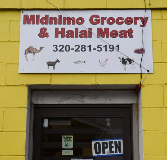 Midnimo Grocery & Halal Meat in St. Cloud is the only store in the area to sell fresh halal goat meat, according to Ahmed Abdi, who is working with the University of Minnesota Extension to connect local goat farmers with local consumers.
