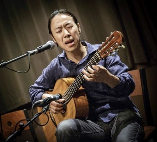 Hiroya Tsukamoto will give a concert at Holy Comforter Episcopal Church on Dec. 6.