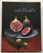 Figs and Olives by Sereena Kurdi, 12th Grade, Lincoln High School, Art Teacher, Marilyn Proctor-Givens .
