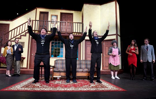 "In Act III of TheatreTCC's production of ""Noises Off,"" everything goes wrong, with hilarious results."
