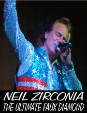 """""""Hello Again, Hello,"""" aTribute to Neil Diamond with Neil Zirconia, is set for Dec. 14-15, 2019, at The Barn Theatre in Stuart."""
