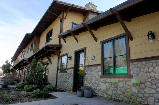 Craftsman Village is the first apartment complex built in Ojai in more than a decade. It has six units.