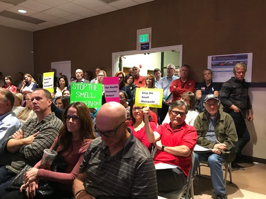 Angry Moorpark residents asked for controls on hemp cultivation at a special meeting of the Ventura County Board of Supervisors on Nov. 19.