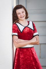 """Zada Reis plays one of two Annies in Center Stage Players and Arts Repertory's production of """"Annie"""" atStudio Channel Island Art Center inCamarillo."""