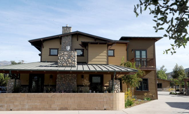 Craftsman Village in Ojai has six apartments, five of which are live/work units.