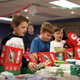 Faith Bible Church Olympian students' project will benefit Operation Christmas Child. The children carefully selected items to fill their boxes, which will bring Christmas cheer to children around the world.