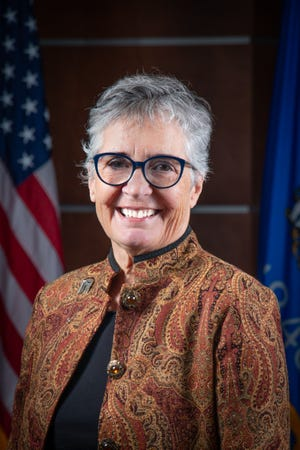 Newly appointed Wausau City Council member Linda Lawrence