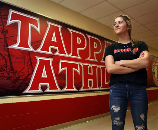 Tappan Zee's Rebecca Heuler who is a volleyball player and track athlete is the Rockland Scholar-Athlete on Nov.19, 2019.
