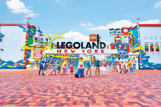 Legoland New York in Goshen, Orange County, is set to open July 4, 2020.