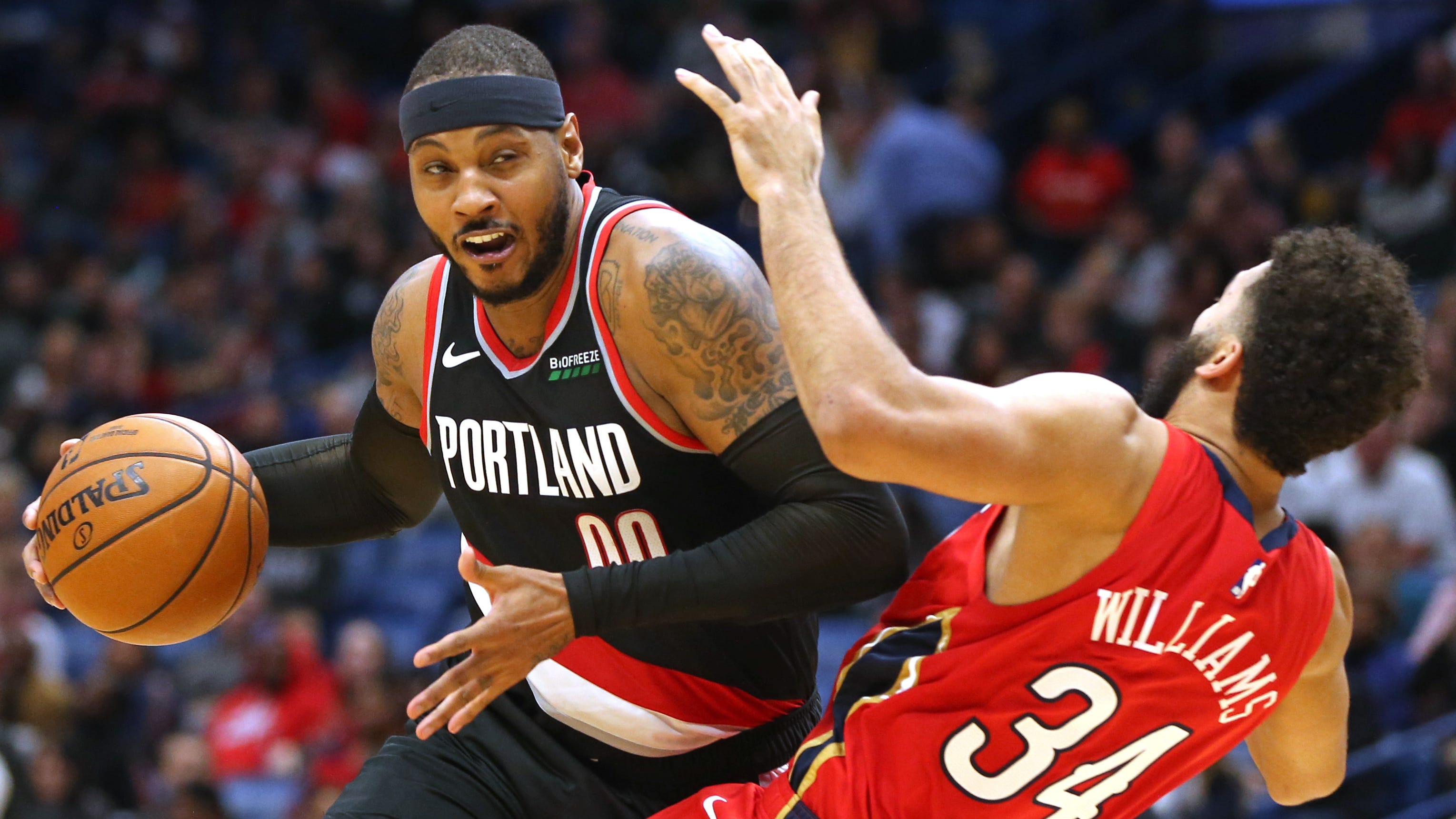 Carmelo Anthony needs more than one game with Trail Blazers