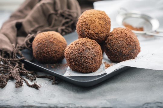 No social drinking for the foreseeable future? Have a boozy chocolate truffle instead.