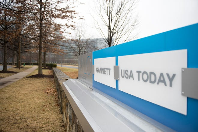 The new Gannett will be the largest U.S. media company by print circulation and will compete for the nation's biggest online news and information audience.