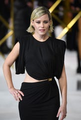 Elizabeth Banks attends the UK Premiere of 'Charlie's Angels' at the Curzon Mayfair in London, Britain on November 20, 2019.