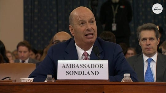 Sondland's impeachment testimony proves Trump foreign policy is run by corrupt clowns