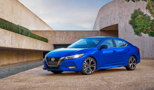 Debuting at the LA Auto Show, the 2020 Nissan Sentra includes Nissan Safety Shield 360, a suite of six driver-assist safety technologies.