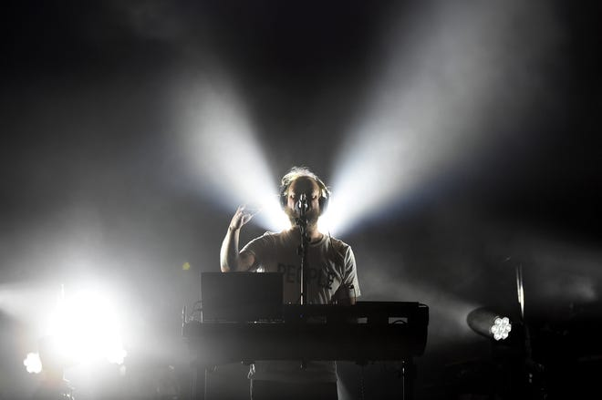 Eau Claire native Justin Vernon of Bon Iver performs during the Coachella Valley Music & Arts Festival in California in 2017.