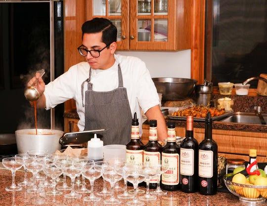 Chef Jason Arellano at Apple Street Kitchen in Tinton Falls