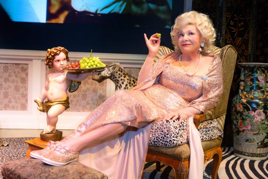 """Renée Taylor in """"My Life On A Diet,"""" which she co-wrote with her husband Joe Bologna, plays  George Street Playhouse in New Brunswick through Dec. 15."""