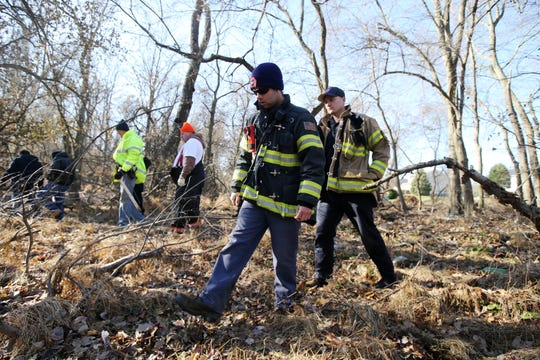 The family-organized search for 25-year-old missing township woman, Stephanie Parze, entered its second day, focusing on the wooded area near her home in Freehold Twp., NJ Thursday, November 21.
