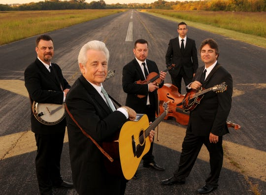 Bluegrass legend Del McCoury and his band will be at the historic Paramount Theatre on the Asbury Park Boardwalk on Friday, Dec. 6.