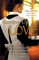 'Serving Up Love' by Karen Witemeyer, Tracie Peterson, Regina Jennings and Jen Turano