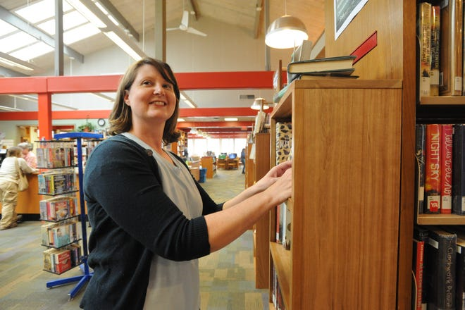 Melisa Pressley, branch manager of the Black Mountain Public Library, followed her love for stories to a career as a librarian, which led her to the Swannanoa Valley.