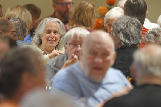 Trillium Event Center was full Thursday afternoon  during an early Thanksgiving dinner offered by the Crawford County Council on Aging.