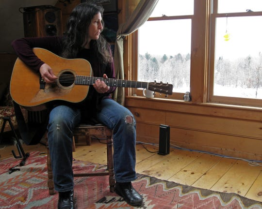 "Musician and producer Kristina Stykos has published her first book of poems, ""Ridge Runner."""