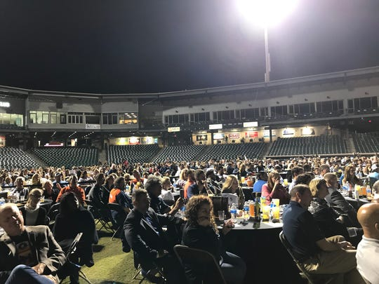 """Over 800 people attended CITGO's """"Under the Lights"""" Q&A with Jose Altuve on Nov. 20, 2019."""