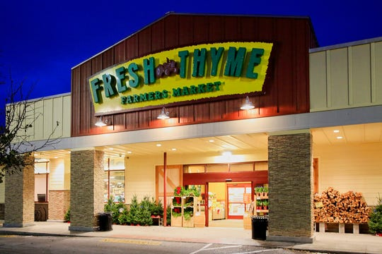 A Fresh Thyme store is seen in Omaha, Neb., Wednesday, Nov. 20, 2019. Nebraska and federal health officials say a hepatitis A outbreak that includes Nebraska, Indiana and Wisconsin has been traced to blackberries sold in Fresh Thyme grocery stores. The Nebraska Department of Health and Human Services says in a news release Wednesday that the outbreak began several week ago in Nebraska. The department says it, the U.S. Food and Drug Administration and the Centers for Disease Control and Prevention are investigating and have confirmed 11 cases. 2019.