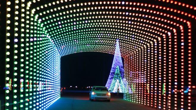 Christmas Nights of Lights at Coney Island.