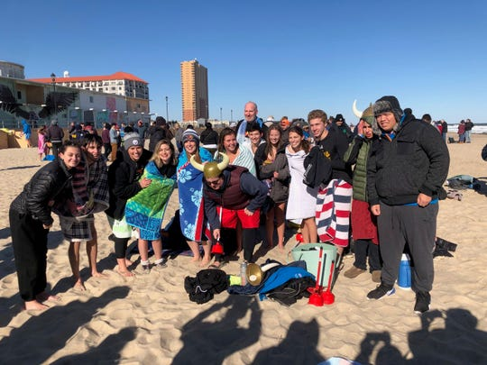 "Voorhees Regional High School ""Unified Plungers"" team."