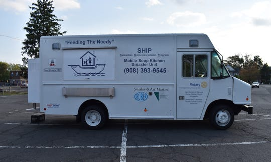 "SHIP's newest mobile soup kitchen/disaster unit, the S.S. Patrick ""Joe"" Mulrooney."