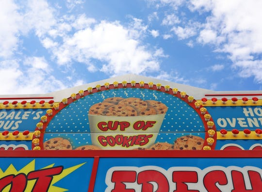Barksdale's Famous Cup of Cookies has four stands located on Logan Avenue, Grand Avenue, Rock Island Avenue and inside the Varied Industries Building at the Iowa State Fair.