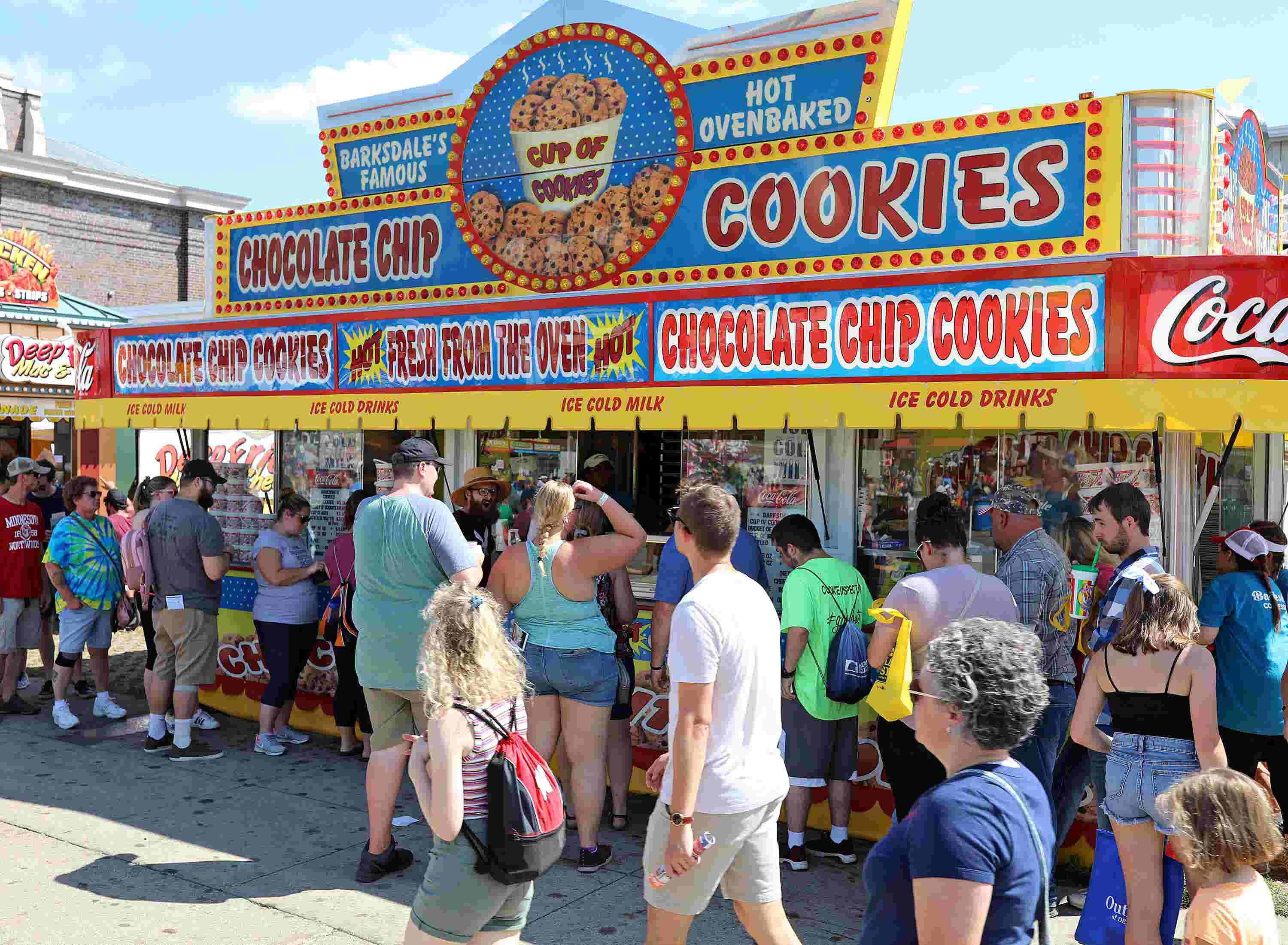 Iowa State Fair: Owners of popular chocolate chip cookie stand retiring