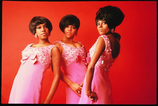 The Supremes in 1965 (from left): Mary Wilson, Florence Ballard and Diana Ross