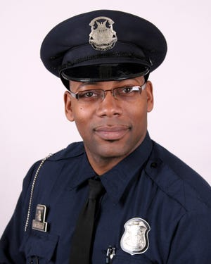 Detroit police Cpl. Rasheen McClain was killed on duty Nov. 20, 2019. He was posthumously promoted from corporal to sergeant.
