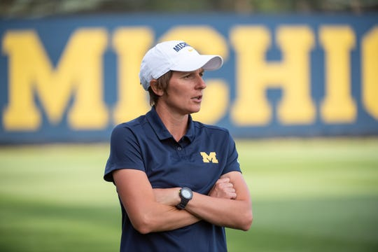 Jennifer Klein has the Wolverines in the second round of the NCAA Tournament in her second year as coach.