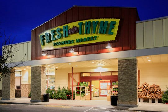A Fresh Thyme store is seen in Omaha, Neb., Wednesday, Nov. 20, 2019.