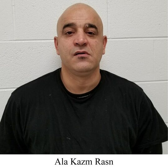 Ala Kazm Rasn, 47, was arrested in Detroit on Nov. 15 by U.S. Customs and Border Patrol agents