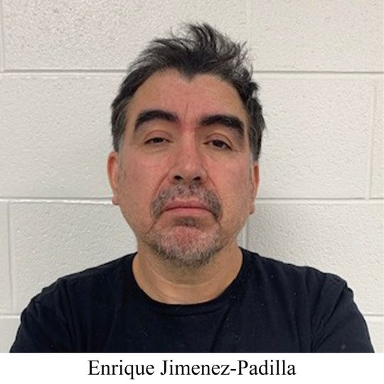 Enrique Jimenez-Padilla, 45, was arrested in Clarkston on Nov. 7 by U.S. Customs and Border Patrol agents