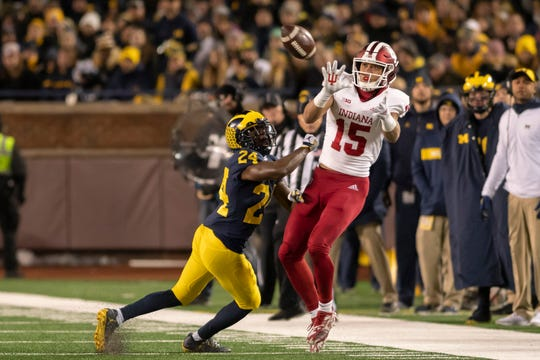 Michigan and Indiana will square off Saturday in Bloomington, Indiana.