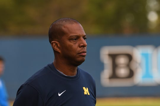 Chaka Daley is in this eighth season as Michigan men's soccer coach.