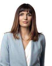 Bosnian opposition lawmaker Sabina Cudic.