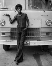 "Dave Jordano's 1973 portrait, ""Jonnie,"" in ""100 Photographs: Detroit 1970-1990"" at the CCS Center Galleries through Dec. 14."