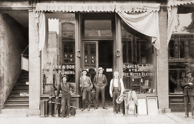 In 1880, David Ahern opened D. Ahern & Son at 17 S. Main St. One hundred and forty years later, the company purchased a storefront in the building to celebrate its anniversary.